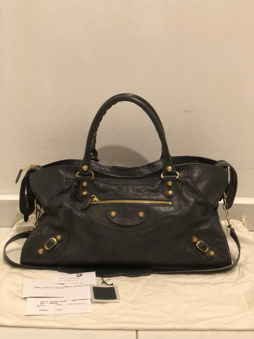 63f53e24341 Balenciaga G12 Rose Gold Part Time Anthracite, Luxury, Bags ...