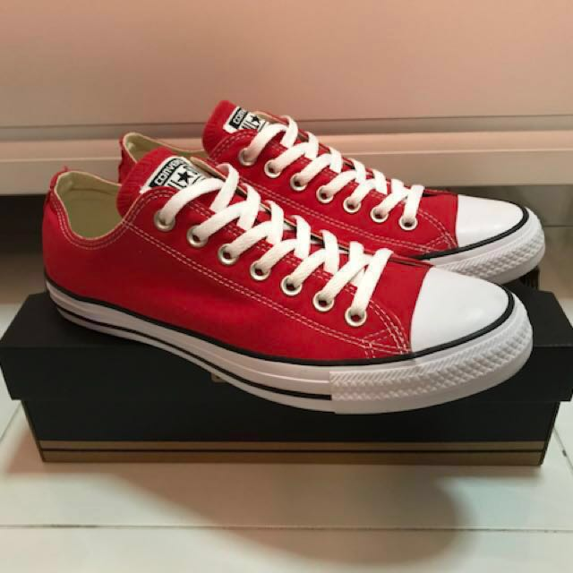 BRAND NEW  Converse All Star in Ox Red 32ebb572b8