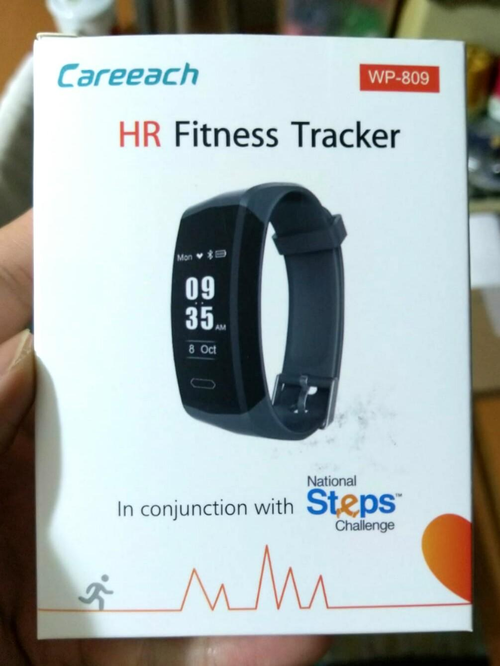 Careeach Heart Rate Fitness Step Tracker