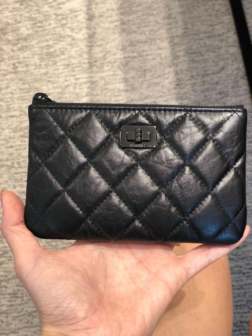 e3cebcfbf2f6e0 Chanel mini o case (black on black hardware), Luxury, Bags & Wallets ...