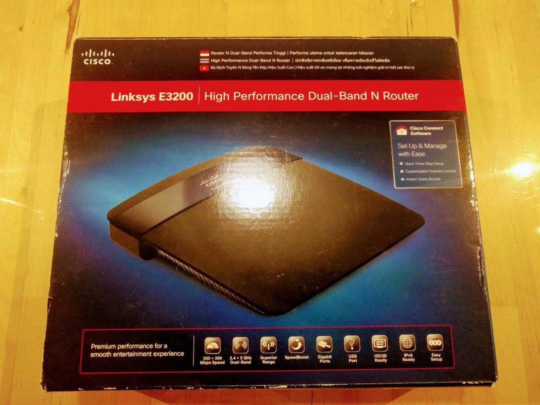 #Next30 Cisco E3200 Dual Band N Router