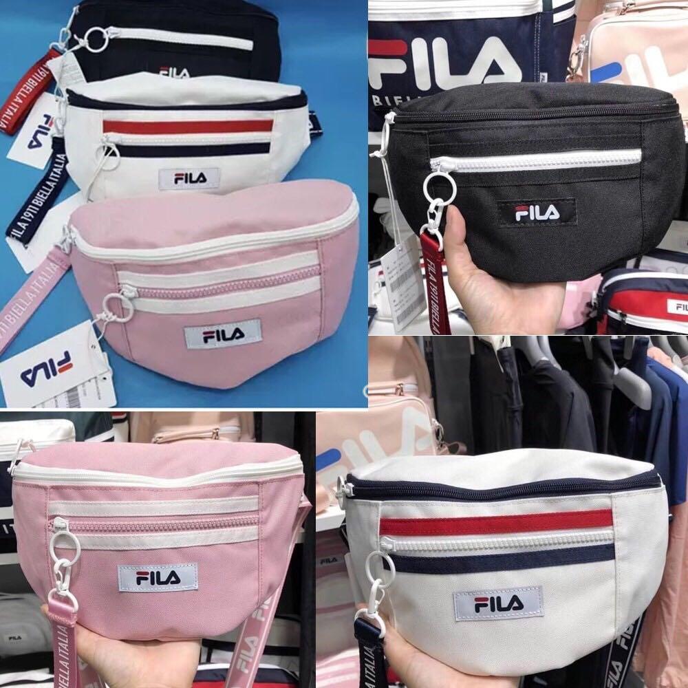 3cc4aa09b6 FILA Multi Chest Bag, Women's Fashion, Bags & Wallets, Sling Bags on  Carousell