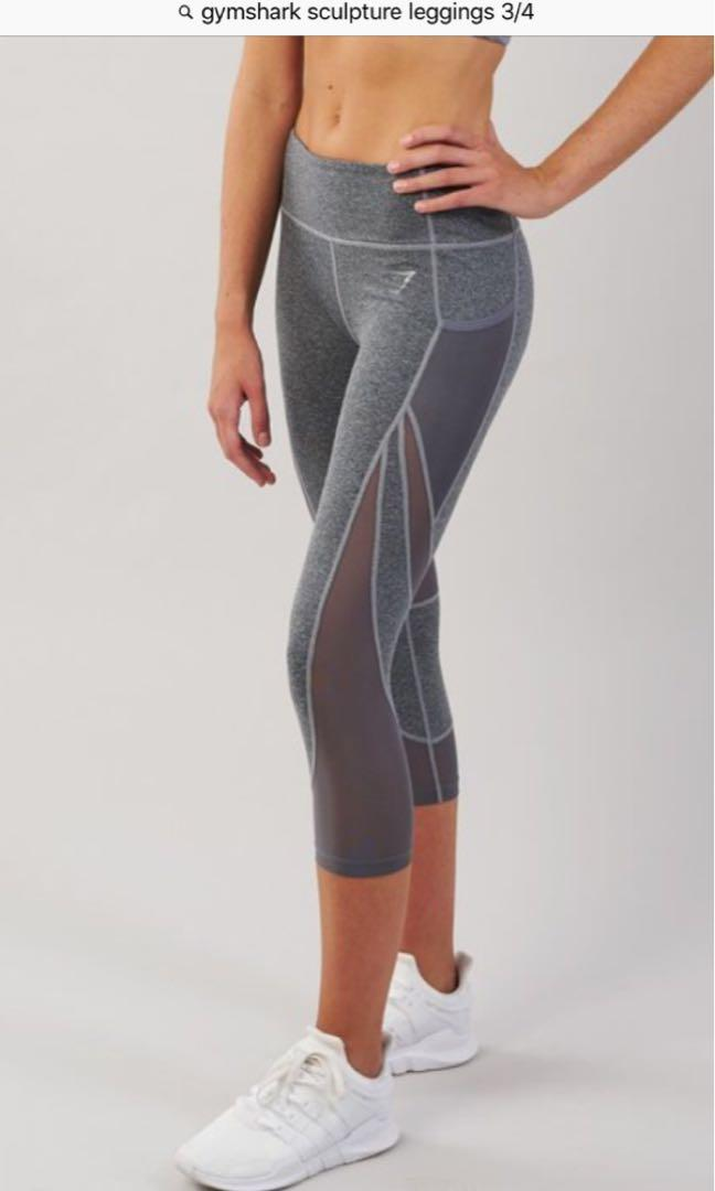 Gymshark tights (BLACK) 3/4