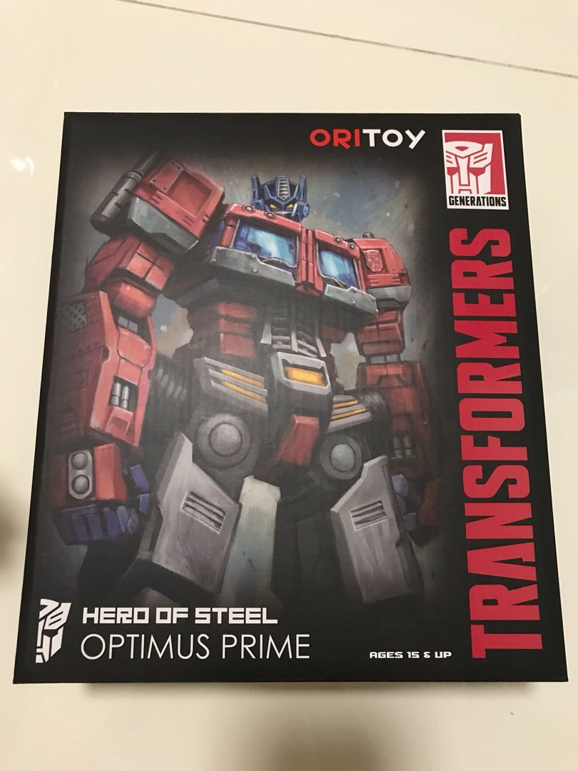 Hot Transformer Optimus Prime Hero Of Steel 01 Oritoy Ori Toys Shf Ultron Games Bricks Figurines On Carousell