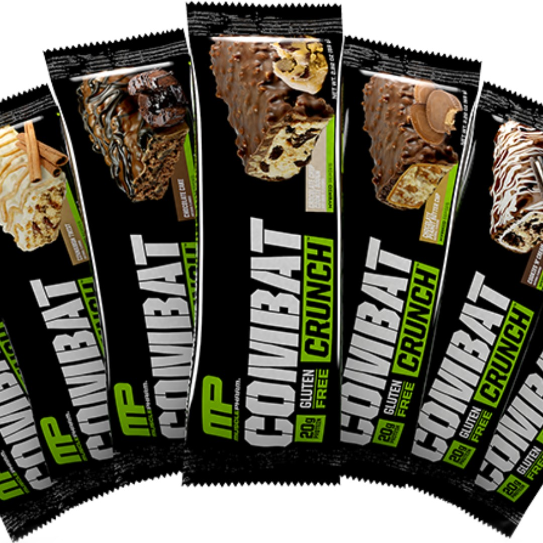 INSTOCK Musclepharm Combat Crunch Protein Bar Food Drinks Packaged Snacks On Carousell