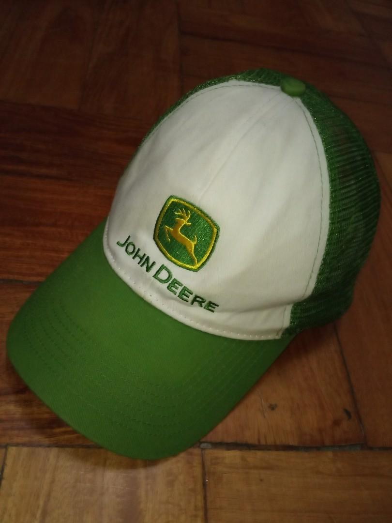 fb64f2f4 John Deere Net Cap, Men's Fashion, Accessories, Caps & Hats on Carousell