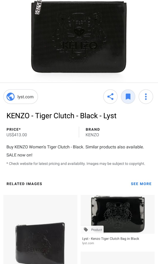 cccd30a2 Kenzo clucth condition 10/10 swap for ipad mini 3, Men's Fashion ...