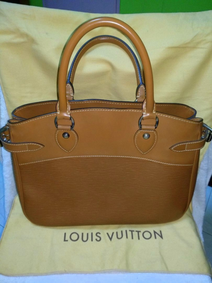 2aa78dd1f29a Authentic Louis Vuitton Epi Leather Passy GM Bag