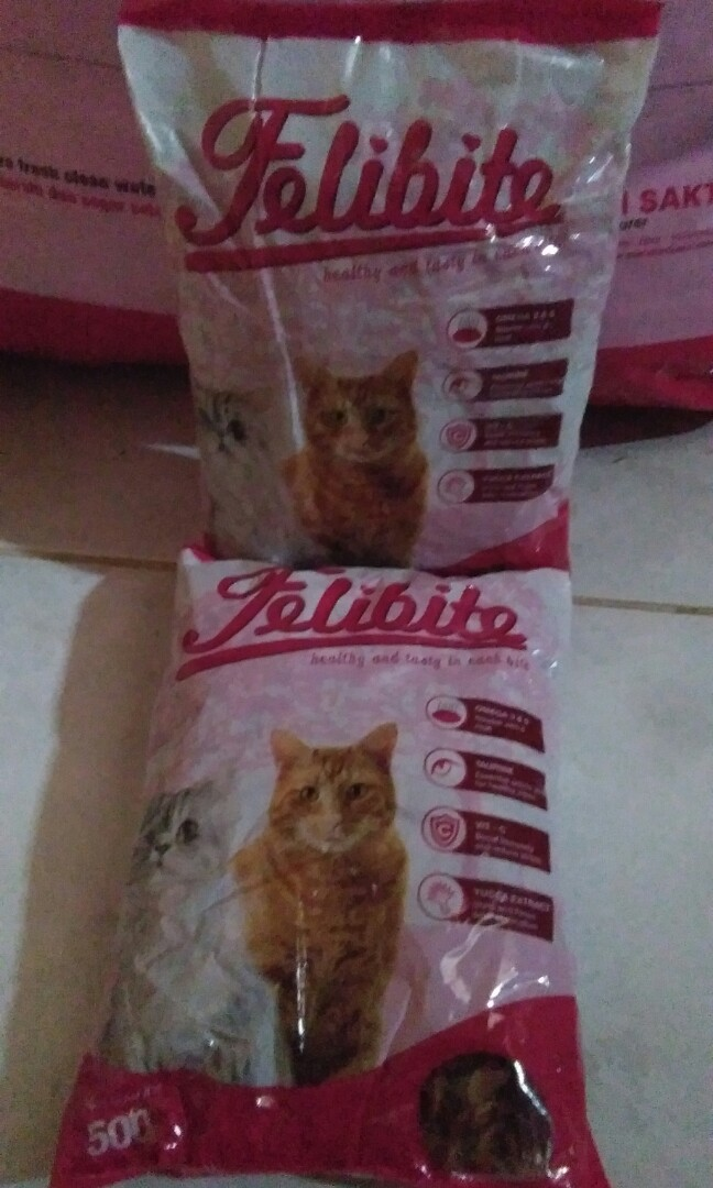 Review Wiyadistore Makanan Kucing Dewasa Bolt 900gr Dan Harga Source · Makanan kucing repack 500g Felibite Perlengkapan Hewan Makanan Hewan di Carousell