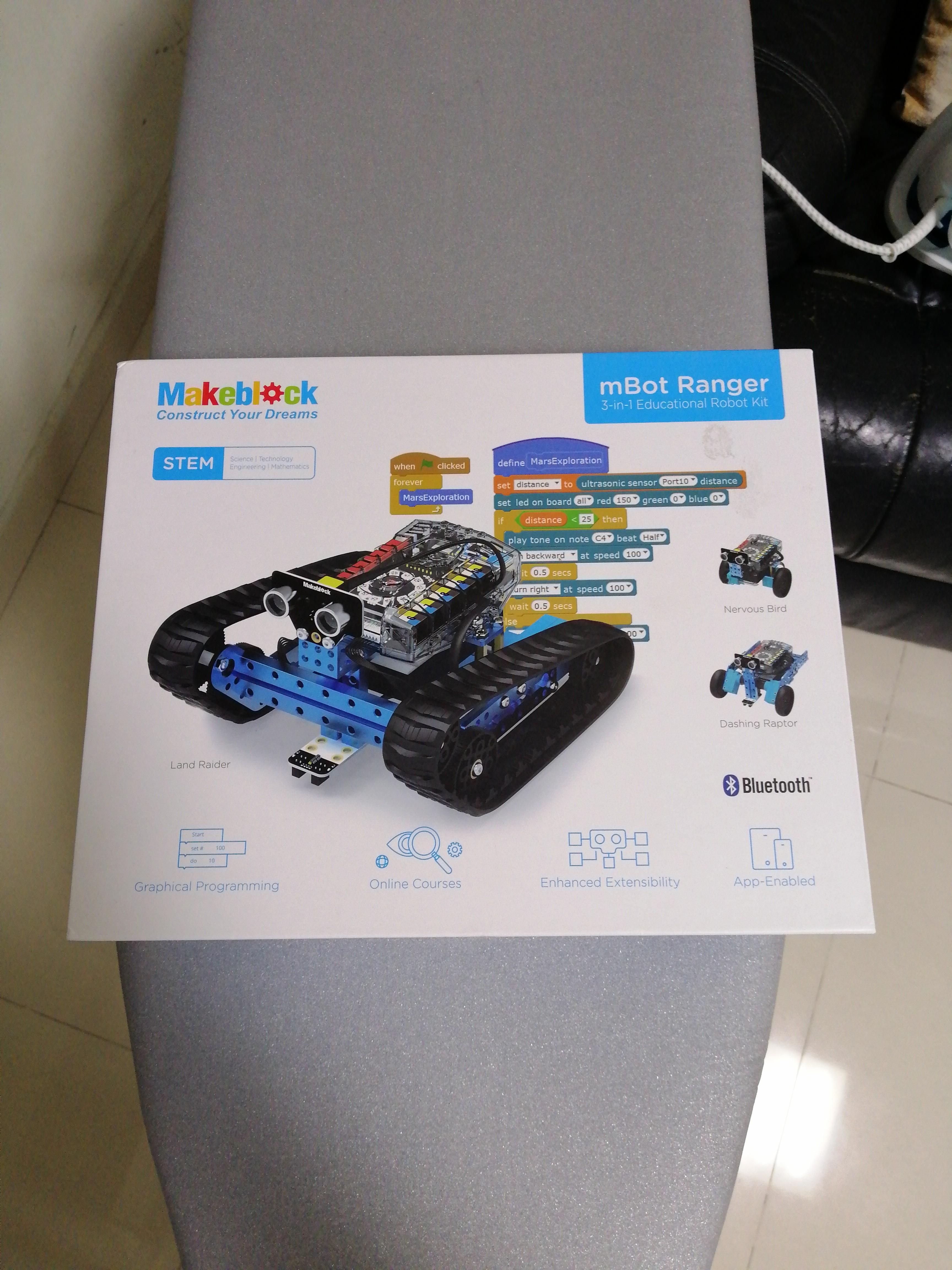 Makeblock mBot Ranger 3 in 1 Educational Robot Kit