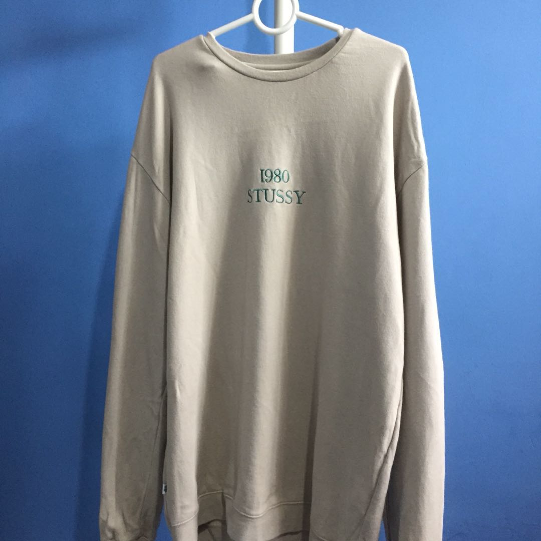 ed403a53ae9c Oversized stussy sweatshirt, Men's Fashion, Clothes, Tops on Carousell