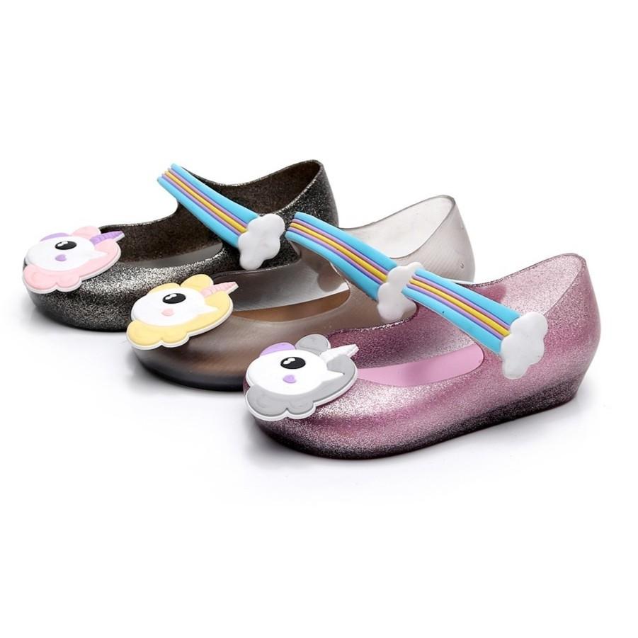 67a7149e508dd6 PO  Unicorn Jelly Sandals