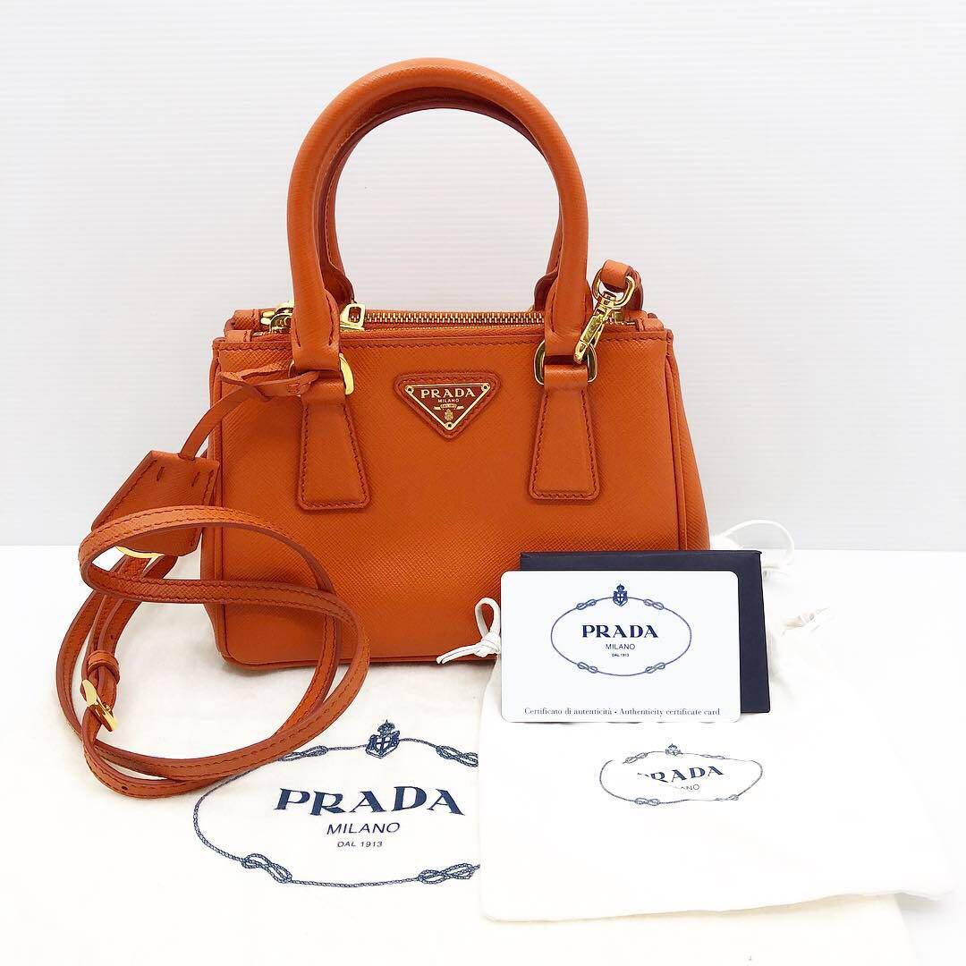 327521ef8eee Prada Saffiano 2 Way Mini Bag 187002730, Luxury, Bags & Wallets ...