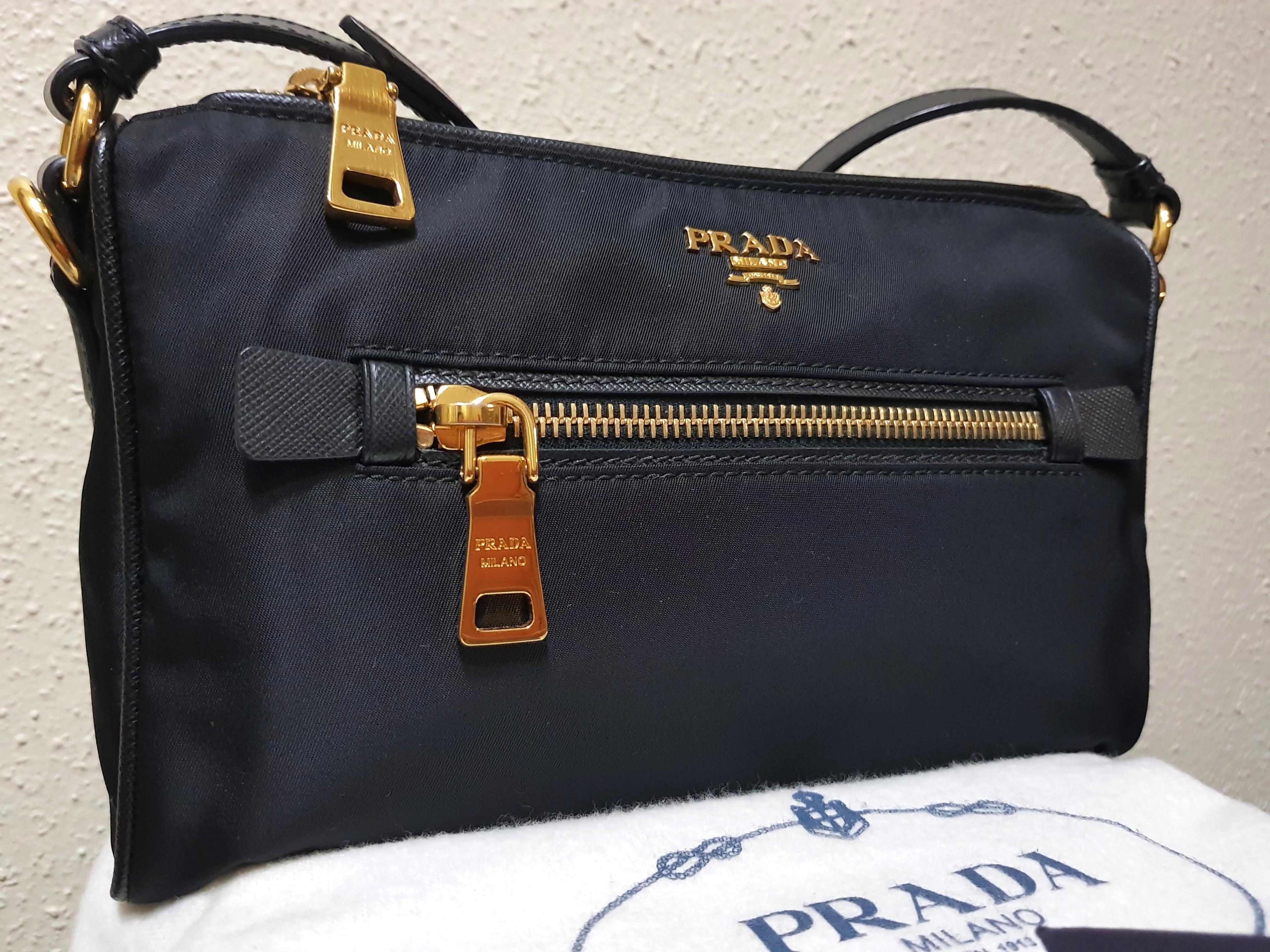 Price Reduced Prada Tessuto Saffiano Nylon Bag Luxury