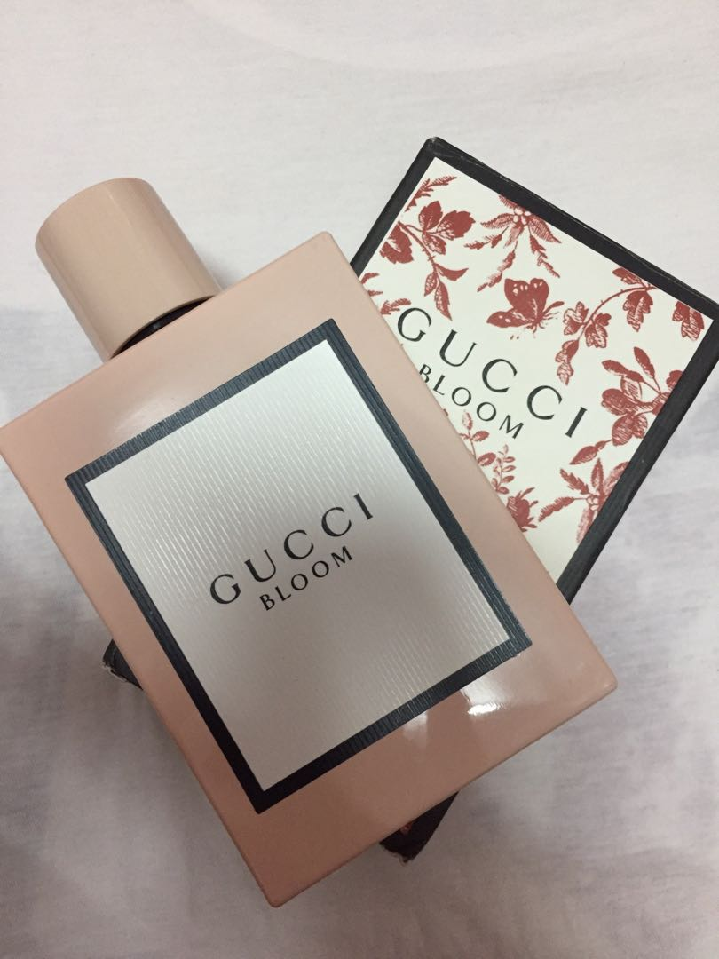 Reduced Authentic Gucci Bloom Perfume 100ml Health Beauty