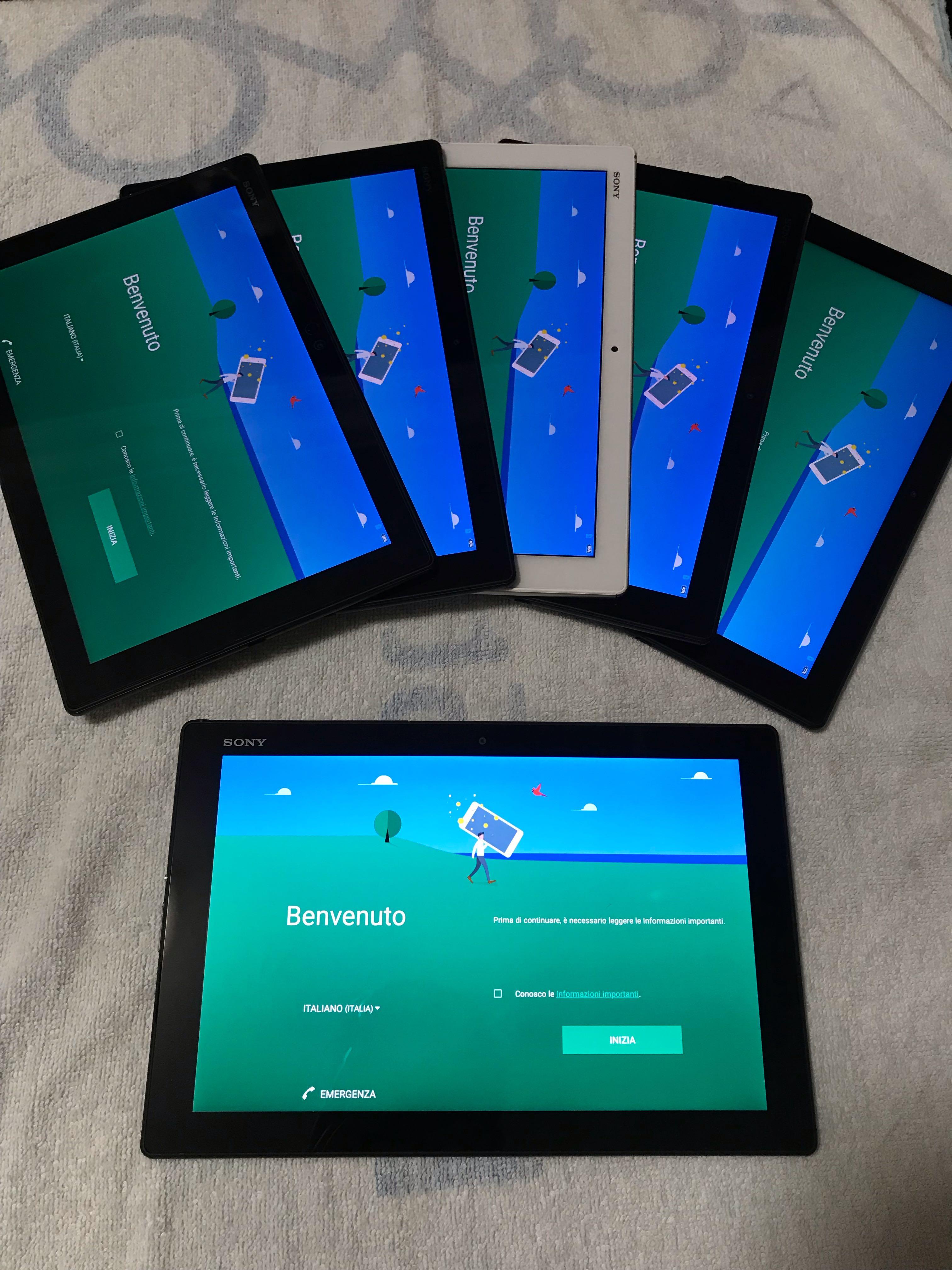 sony z4 tablet 4g docomo set