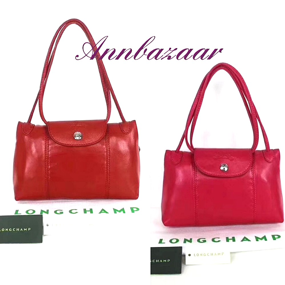 01f090417bf8 SPECIAL OFFER! Longchamp Sling Bag- Red (100% Authentic)