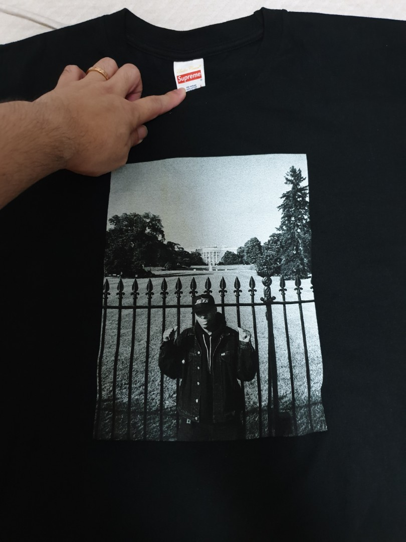 b33e00519e5d Supreme Undercover White House Public Enemy Tee, Men's Fashion ...