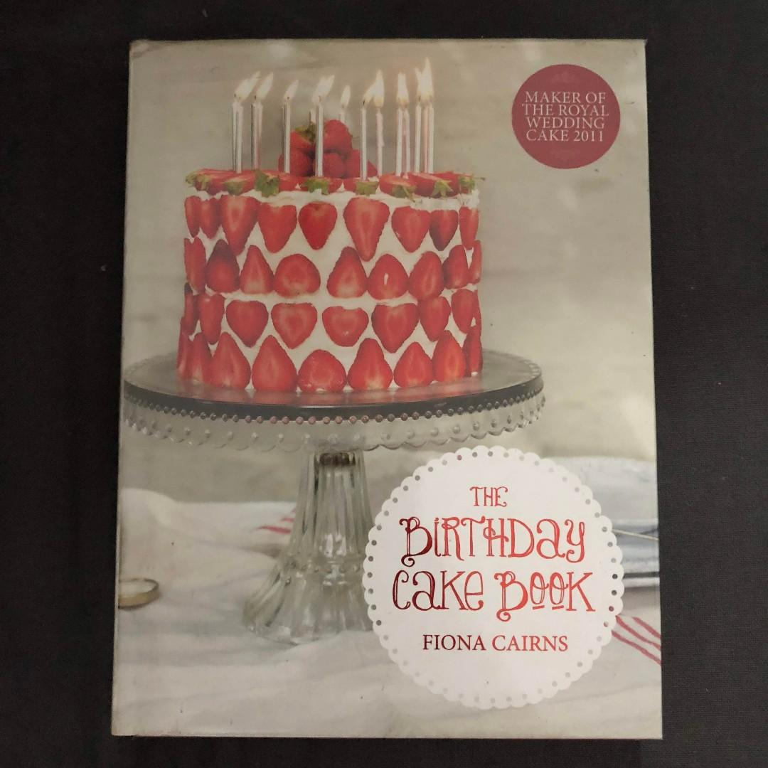 Super The Birthday Cake Book Fiona Cairns On Carousell Funny Birthday Cards Online Inifofree Goldxyz