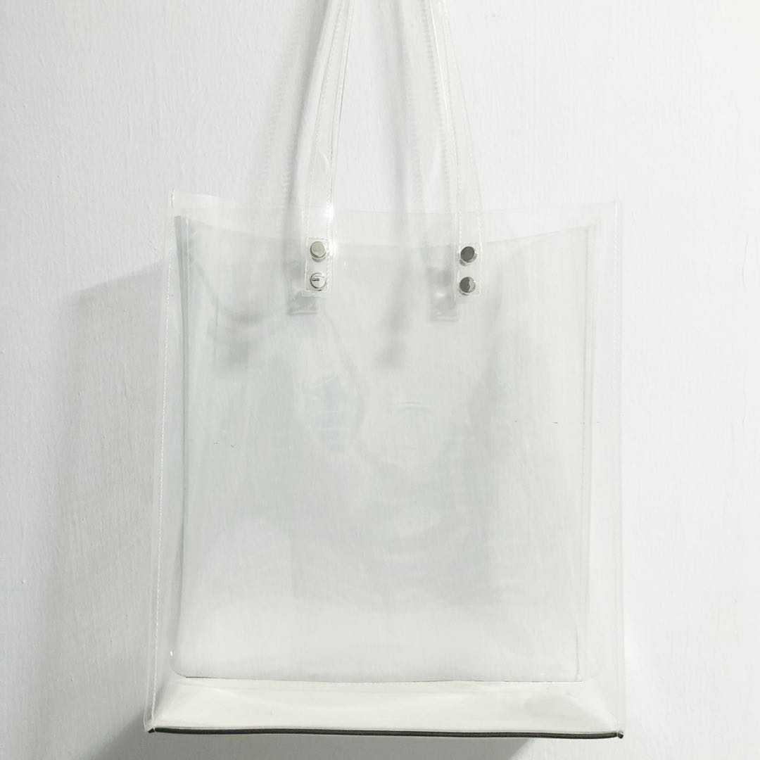 0a77caadf3eaa Transparent Tote Bag