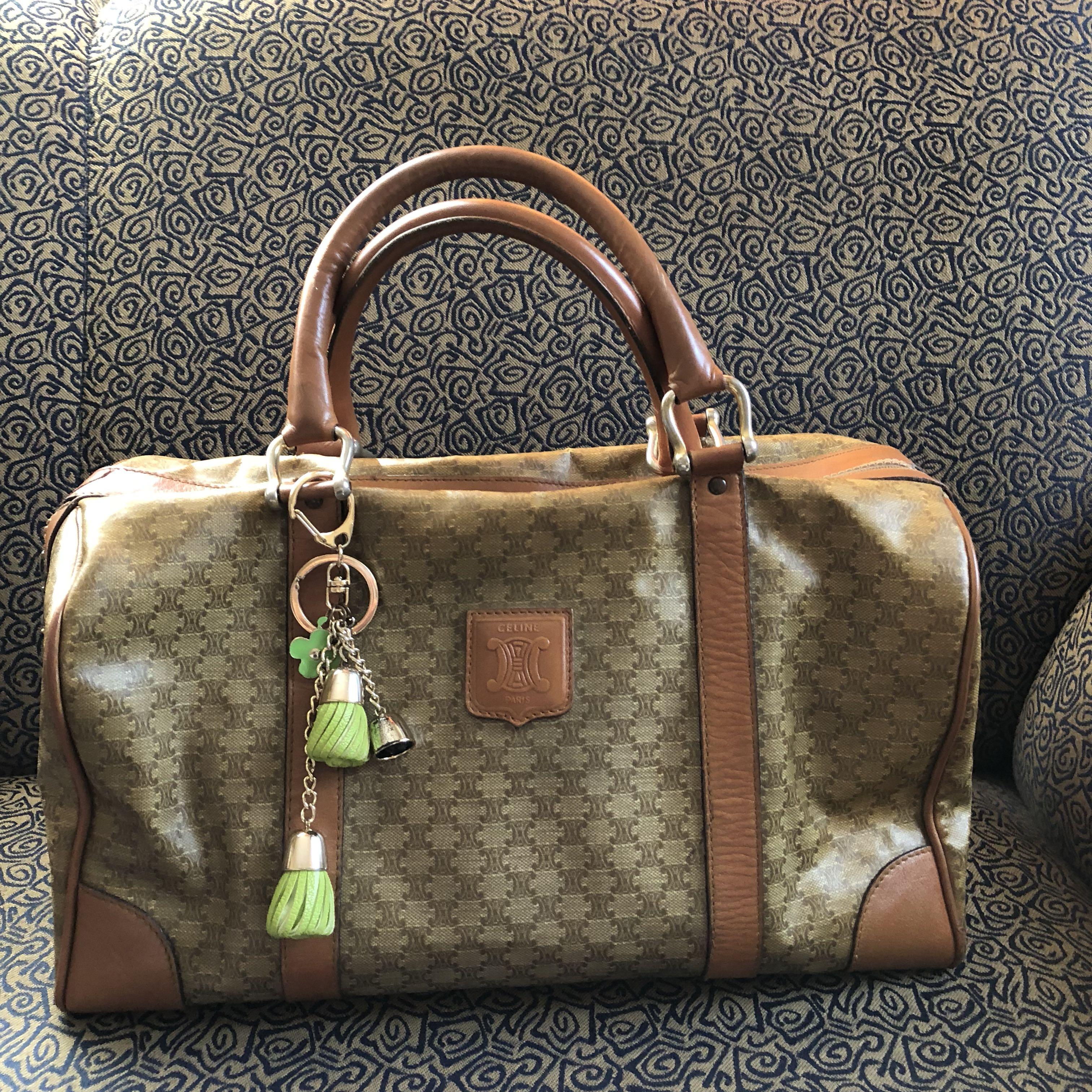107df9a46f34 Vintage authentic celine boston bag women fashion bags wallets on carousell  jpg 3024x3024 Leather handbags celine