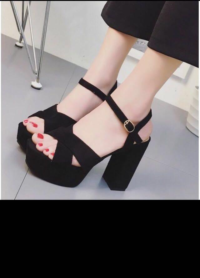 9ff0bbaec16 Women Korean sexy high heel sandals platform wedges