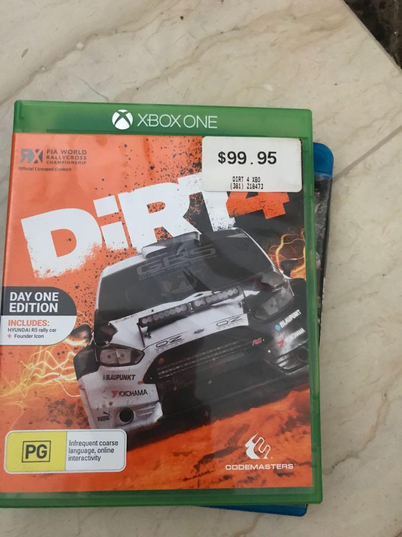 Xbox Video Game Di Carousell Kaset Bd Ps4 Dirt Rally Reg 2