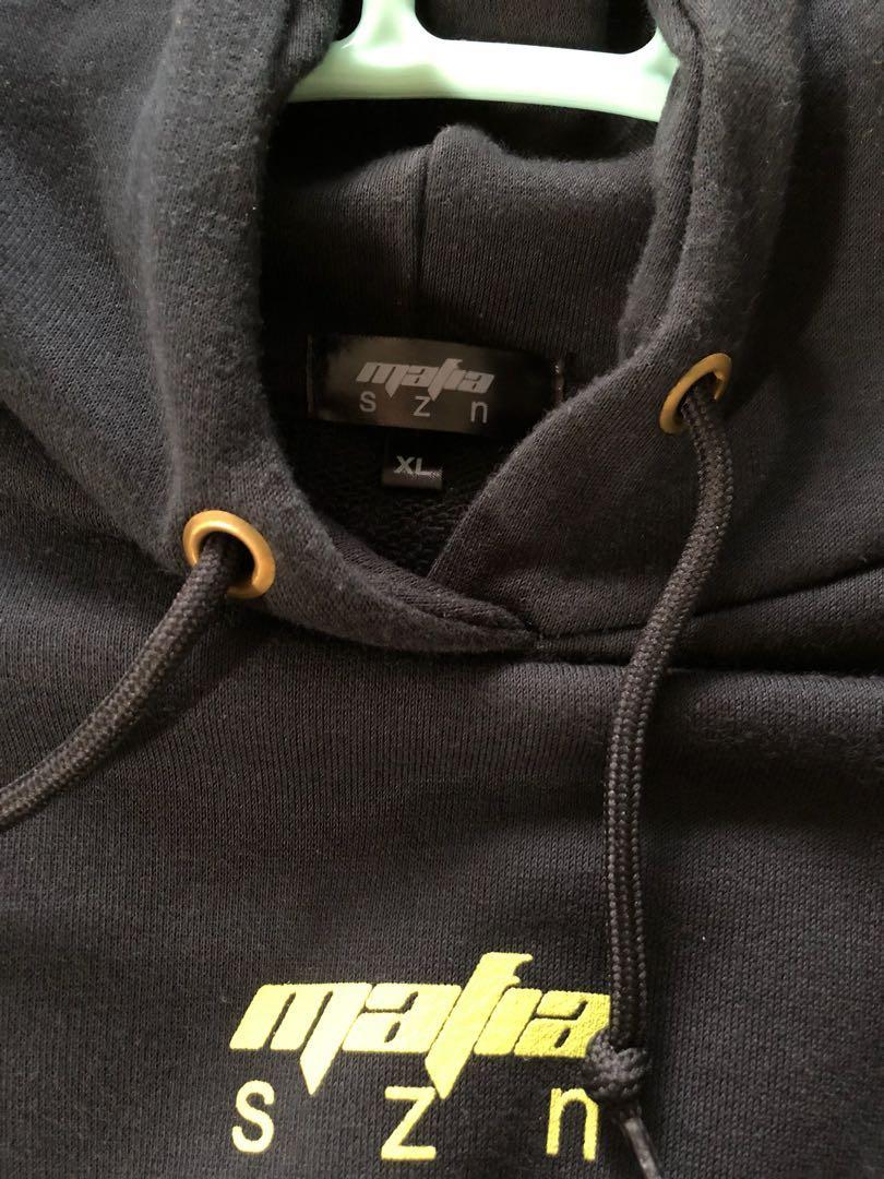 47b314793 Yeezy Mafia Hoodie. Mystery Yellow Mafia Szn XL