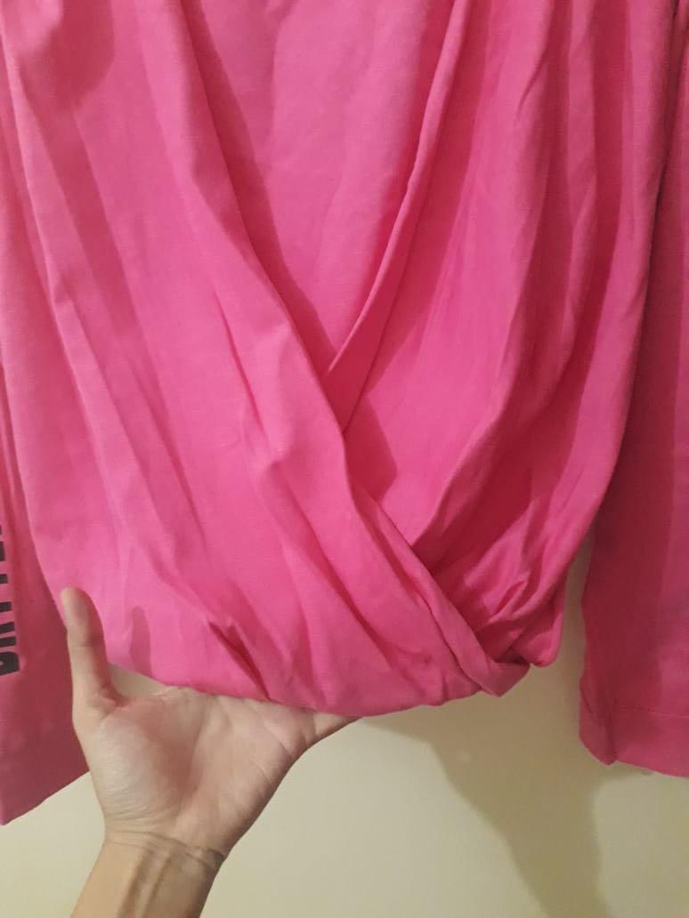 Zara Trafaluc wanita Pink