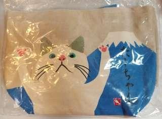 罐湯貓便當布袋 Cat bag