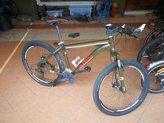 Carbon Steel MTB Bike 21speed 26inch