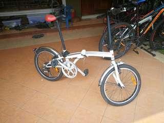 """20"""" Folding Bike 7speed Shimano Shifter"""