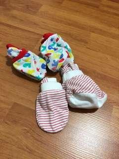 Baby Booties & Mittens