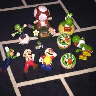 Mario figure set