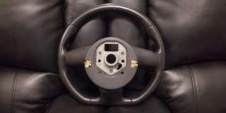 Audi Flat Bottom Racing Steering Wheel without Airbag
