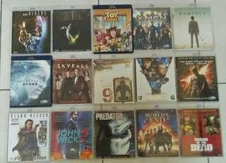Blu Ray xbd Lot