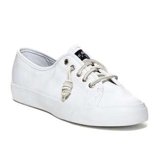 EUR38 UK5 Instock! - Sperry Seacoast Leather Sneakers