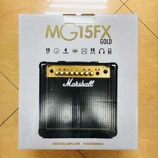 Marshall MG4 Series MG15FX 15W 1x8 Guitar Combo Amp