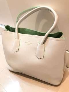 💯%Made in Korea🇰🇷184TH AVENUE SEOUL純白色手袋👜