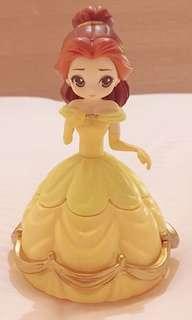 迪士尼公主  貝兒 扭蛋