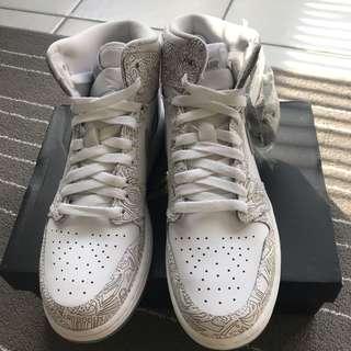 [100% Authentic] Air Jordan 1 Re Hi OG Laser BG | US7