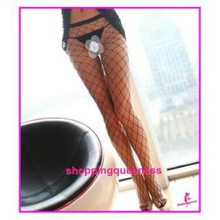 Sexy Lingerie Sleepwear Costume Stockings High Sock Cosplay Baju Tidur Pajamas W8130B