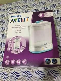 REPRICED- Philips Avent 2 in 1 electric sterilizer