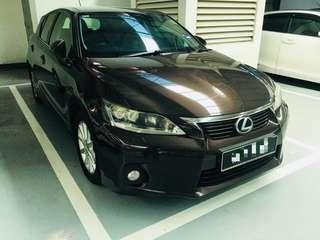 Lexus CT200h Luxury Spec (CBU) 2012