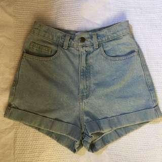 American Apparel Highwaisted Short