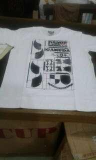 Kaos damn i love indonesia white history indo series