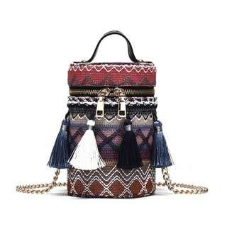 Tassel Bucket Chain Bag #XMAS25