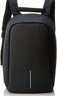 Black Anti-theft Backpack Haversack