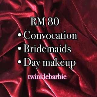 Bajet makeup service