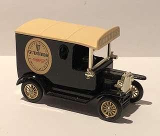 Diecast model car, GUINNESS, 1920 Ford Model T Van, New with box.